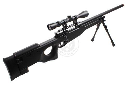 Well  5 Wellfire mk96 bolt action awp sniper rifle w/ 3-9x40 scope and bipod(Airsoft Gun)