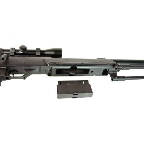 Well Airsoft Rifle 5 Well MB06 SR-2 Tactical Airsoft Sniper Rifle w/ 3-9x40 Scope & Bipod Bolt Action Airsoft Sniper