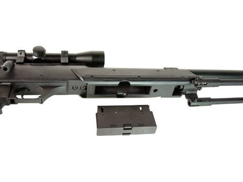 Well  5 Well MB06 SR-2 Tactical Airsoft Sniper Rifle w/ 3-9x40 Scope & Bipod Bolt Action Airsoft Sniper