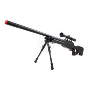 Well Airsoft Rifle 1 Wellfire mk96 bolt action awp sniper rifle w/ 3-9x40 scope and bipod(Airsoft Gun)