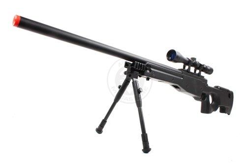 Well  1 Wellfire mk96 bolt action awp sniper rifle w/ 3-9x40 scope and bipod(Airsoft Gun)