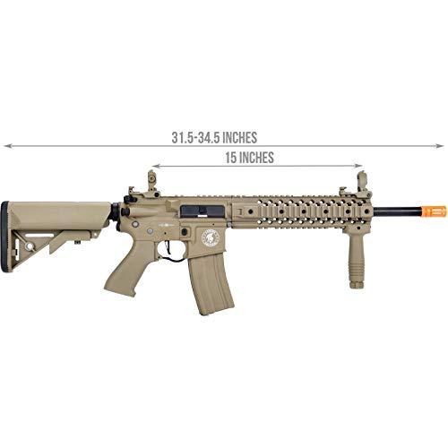 Lancer Tactical  2 Lancer Tactical LT-12 ProLine Series M4 EVO Airsoft AEG Rifle Low FPS TAN