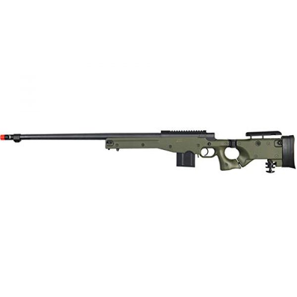 Well Airsoft Rifle 1 Well MB4403 Airsoft Sinper Rifle - OD Green