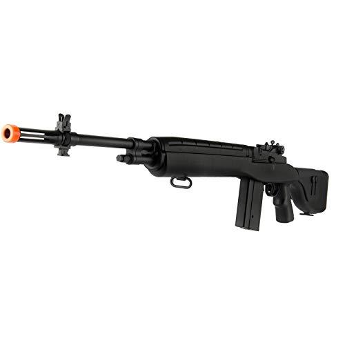 "Lancer Tactical  3 Lancer Tactical LT-732 DMR Stock 45"" M14 SOCOM Airsoft AEG Rifle Black"