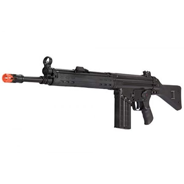 Lancer Tactical Airsoft Rifle 3 Lancer Tactical LCT Stamped Steel Full Stock LC-3A3-S Airsoft AEG Rifle Black