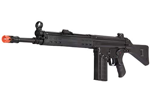 Lancer Tactical  3 Lancer Tactical LCT Stamped Steel Full Stock LC-3A3-S Airsoft AEG Rifle Black