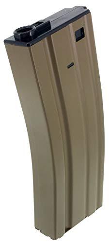 SportPro  3 SportPro 140 Round Metal Medium Capacity Magazine for AEG M4 M16 Airsoft - Dark Earth