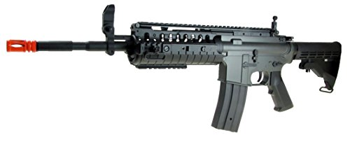 Jing Gong (JG)  2 JG aeg-m4 system nicads/charger included-metal g-bx/black(Airsoft Gun)