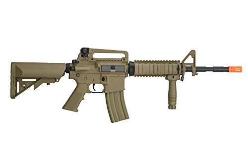 Lancer Tactical  2 Lancer Tactical Gen 2 M4 RIS LT-04T Airsoft Gun AEG Rifle Dark Earth