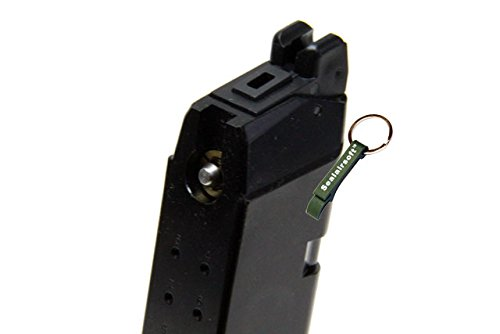 KJW  3 KJ Works 20rds Airsoft 6mm Gas Magazine For G23 G32C G27 KP03 GBB -Mobile Ring Included