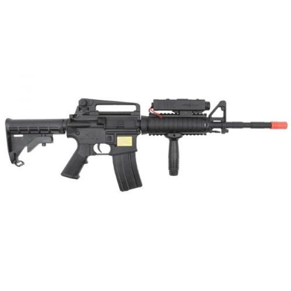 P-Force Airsoft Rifle 3 PForce M4 Full Metal Semi and Full Auto Electric AEG Airsoft Rifle