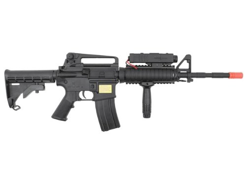 P-Force  3 PForce M4 Full Metal Semi and Full Auto Electric AEG Airsoft Rifle