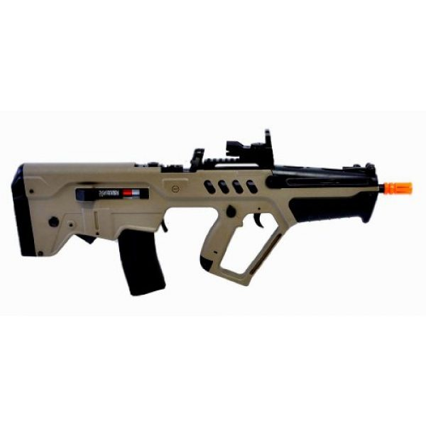 Umarex Airsoft Rifle 2 umarex tavor 21 desert tan aeg airsoft rifle w/ reflex dot sight(Airsoft Gun)