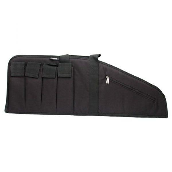"Bulldog Cases Rifle Case 2 BULLDOG ASSLT RFL MAG BLK/BLK 35"""" - 672352244229 BD422"""