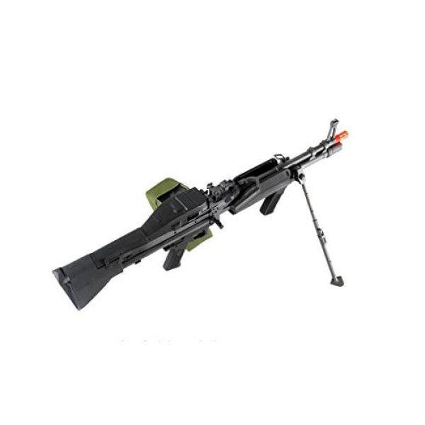 GLORYFIRE Airsoft Rifle 6 GLORYFIRE MK43 AEG Metal Gear Full Metal Body Integrated Bipod