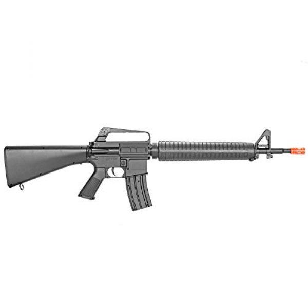 BBTac Airsoft Rifle 6 BBTac M16-A1 Vietnam Model Spring Action Assault Rifle, Black (BT-M16A1_(a))