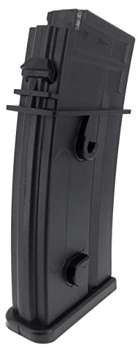 SportPro  5 SportPro Army Force 470 Round Polymer High Capacity Magazine for AEG G36 Airsoft - Black