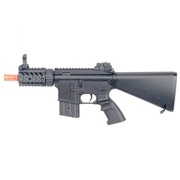 MetalTac Airsoft Rifle 5 MetalTac CYMA CM013 M4-RAS Electric Airsoft Gun with Metal Gearbox Version 2, Full Auto AEG, Powerful Spring 415 Fps with .20g BBS