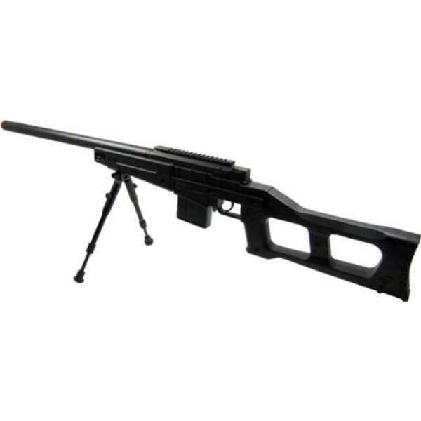 Prima USA Airsoft Rifle 3 well mb4408b bolt action spring airsoft sniper rifle with bipod 390 fps(Airsoft Gun)