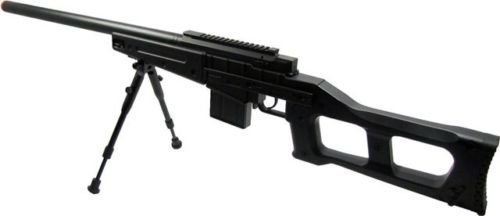Prima USA  3 well mb4408b bolt action spring airsoft sniper rifle with bipod 390 fps(Airsoft Gun)