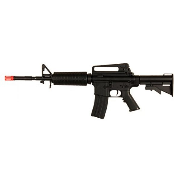 Double Eagle Airsoft Rifle 1 Double Eagle Velocity Airsoft 94S D94S M16 Rechargeable FPS-200 Can Fire Semi & Full Automatic Electric Gun