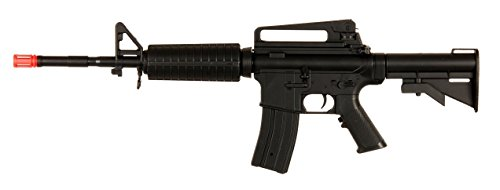 Double Eagle  1 Double Eagle Velocity Airsoft 94S D94S M16 Rechargeable FPS-200 Can Fire Semi & Full Automatic Electric Gun