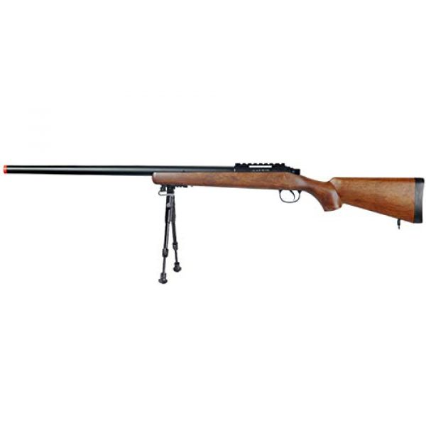 Well Airsoft Rifle 1 Well MB03 Airsoft Sniper Rifle W/Bipod - Wood