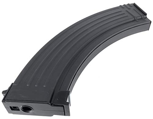 SportPro  6 SportPro 200 Round Metal RPK Medium Capacity Magazine for AEG AK47 AK74 Airsoft - Black