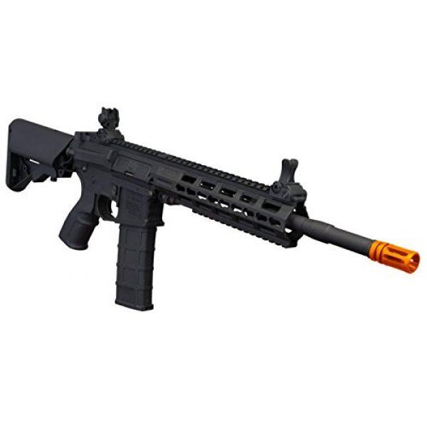 """Tippmann Airsoft Airsoft Rifle 3 Tippmann Commando 14.5"""" 6mm AEG Carbine (Battery & Charger) - Black"""