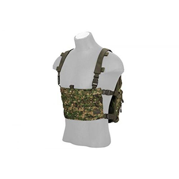 Lancer Tactical Airsoft Tactical Vest 3 Lancer Tactical 1000D Nylon QD Chest Rig and Backpack Combo (GREENZONE)