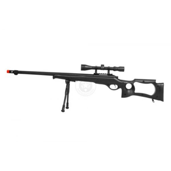 Well Airsoft Rifle 3 wellfire mb10d bolt action sniper rifle w/ 3-9x40 scope and bipod(Airsoft Gun)