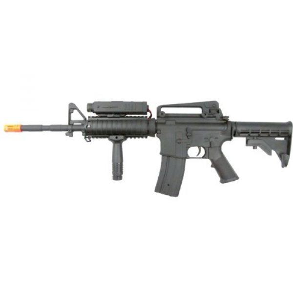 P-Force Airsoft Rifle 4 PForce M4 Full Metal Semi and Full Auto Electric AEG Airsoft Rifle