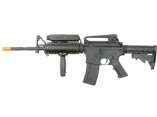 P-Force  4 PForce M4 Full Metal Semi and Full Auto Electric AEG Airsoft Rifle