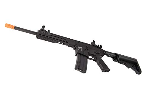"Lancer Tactical  5 Lancer Tactical LT-19BL-G2-M Gen 2 Airsoft M4 Carbine 10"" AEG Rifle Black"