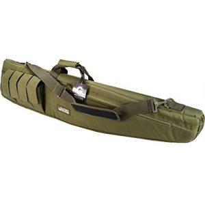 "Loaded Gear Rifle Case 1 Loaded Gear 48"" Tactical Rifle Soft Rifle Gun Bag Case, Brown (Green)"