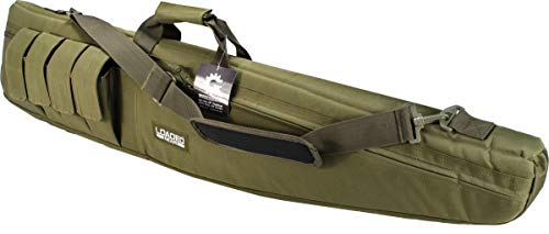 "Loaded Gear Rifle Case 1 Loaded Gear 48"" Tactical Rifle Soft Rifle Gun Bag Case, Brown (Green)"