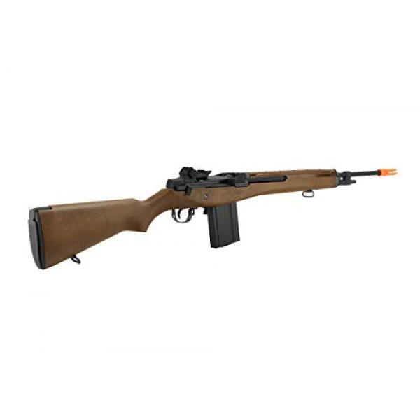Lancer Tactical Airsoft Rifle 4 Lancer Tactical WE Full Metal M14 Gas Blowback Airsoft Sniper Rifle Imitation Wood 400 FPS