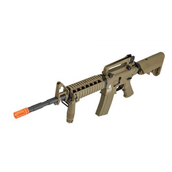 Lancer Tactical Airsoft Rifle 5 Lancer Tactical Gen 2 M4 RIS LT-04T Airsoft Gun AEG Rifle Dark Earth