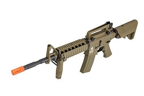 Lancer Tactical  5 Lancer Tactical Gen 2 M4 RIS LT-04T Airsoft Gun AEG Rifle Dark Earth