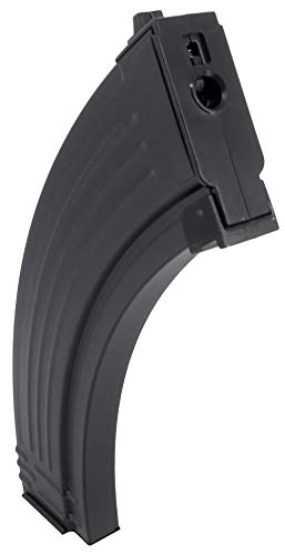 SportPro  2 SportPro 200 Round Metal RPK Medium Capacity Magazine for AEG AK47 AK74 Airsoft - Black