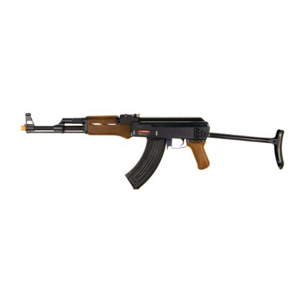 Double Eagle Airsoft Rifle 1 Double Eagle AK-47 CQB AEG Semi/Full Auto Electric Airsoft Rifle Gun High Capacity Magazine FPS 300