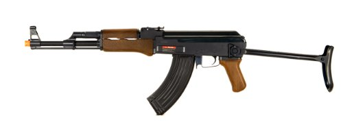 Double Eagle  1 Double Eagle AK-47 CQB AEG Semi/Full Auto Electric Airsoft Rifle Gun High Capacity Magazine FPS 300