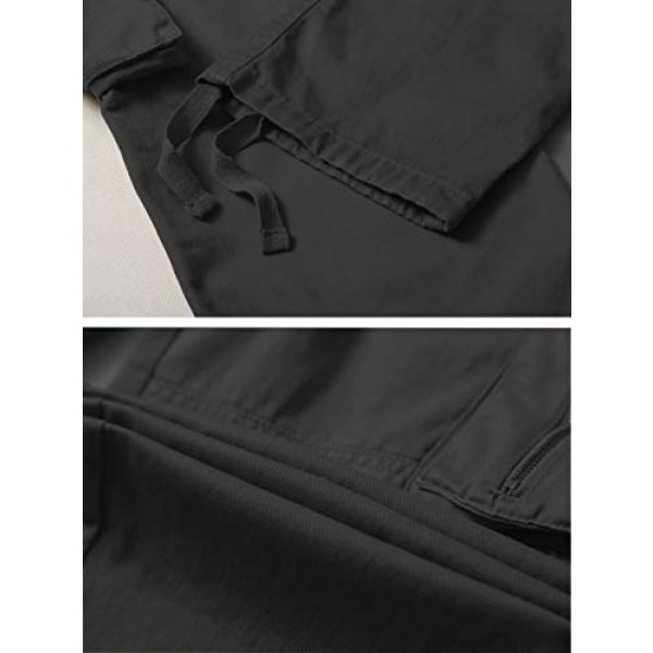 AKARMY Tactical Pant 6 Men's Lightweight Cotton Casual Work Pants,Relaxed Fit Tactical Army Ripstop Cargo Pants with 11 Pockets