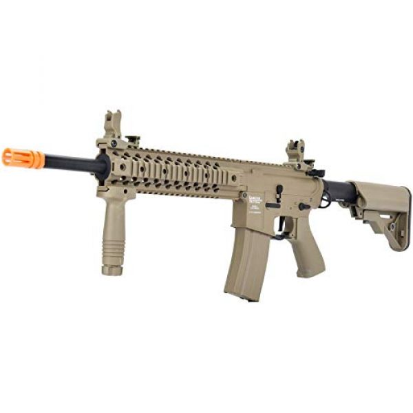 Lancer Tactical Airsoft Rifle 4 Lancer Tactical LT-12 ProLine Series M4 EVO Airsoft AEG Rifle Low FPS TAN