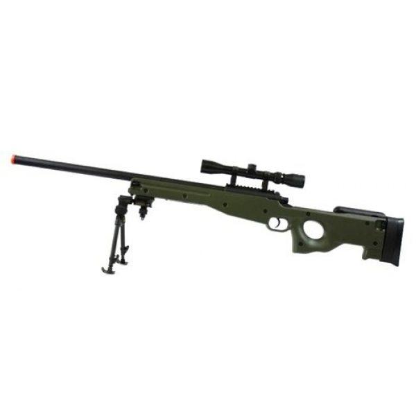 BBTac Airsoft Rifle 4 BBTac BT-96 Bolt Action Sniper Rifle w/ 3-9x Scope and Bipod - OD GREEN