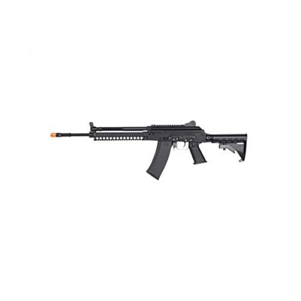 KWA Airsoft Rifle 1 KWA AKG-KCR Full Metal 6mm Gas Blowback 40rd Airsoft Rifle, Black