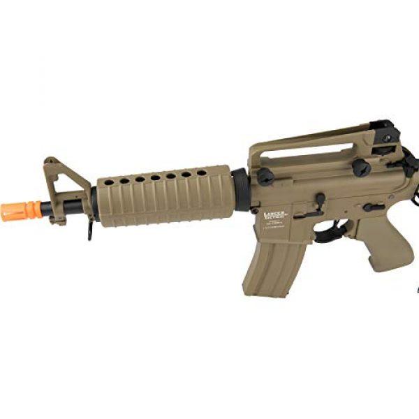 Lancer Tactical Airsoft Rifle 3 Lancer Tactical M933 Commando Proline Airsoft AEG Low FPS TAN
