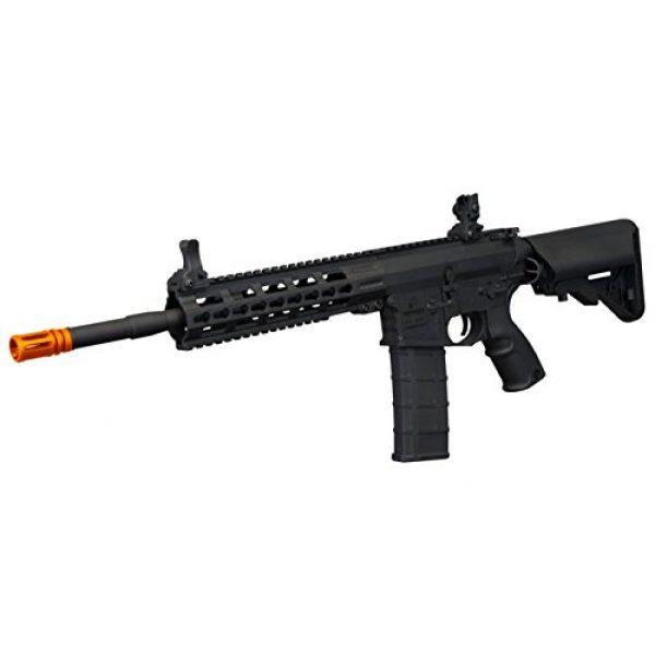"""Tippmann Airsoft Airsoft Rifle 2 Tippmann Commando 14.5"""" 6mm AEG Carbine (Battery & Charger) - Black"""