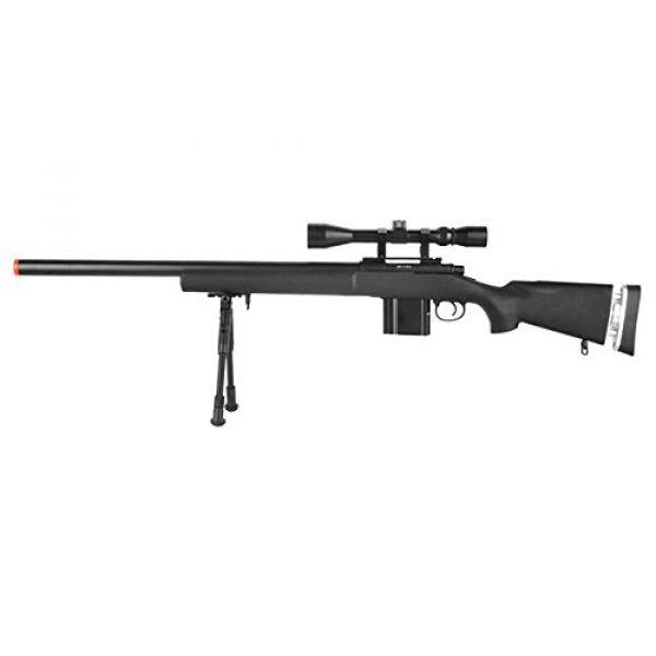 Well Airsoft Rifle 1 Well MB4404 Airsoft Sniper Rifle - Black