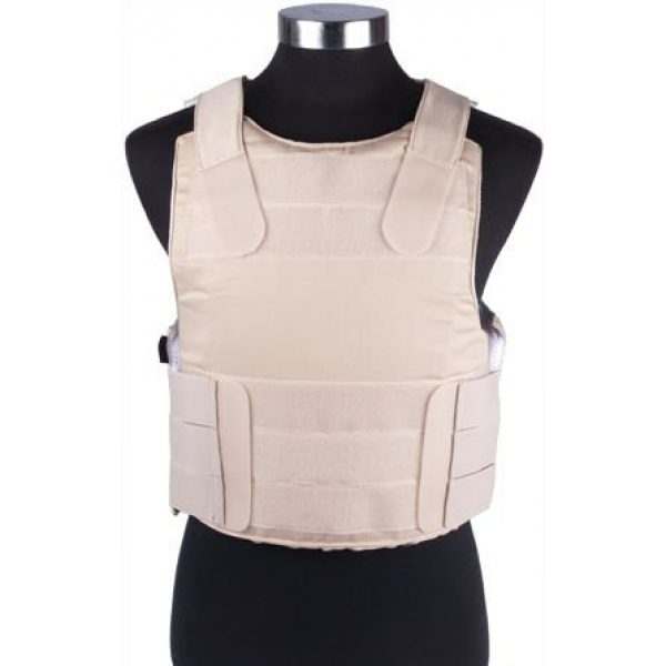 enmu pancho Airsoft Tactical Vest 2 Bravo Protective Gear Special Force Vest - (TAN)